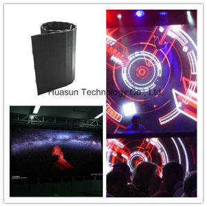 Light Weight Outdoor Flexible LED Screen P8 P10 for Weddening Shows pictures & photos