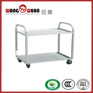 Assembly Stainless Steel Trolley with Knock Down Design pictures & photos