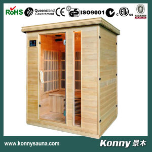 2014 Kl-031HD-H (3 person) New Luxury CE Certification Indoor Far Infrared Sauna Cabin