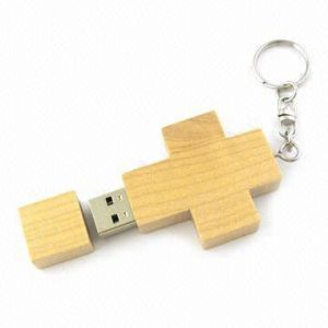 Wooden Cross USB Flash Drive Stick Style No. UF-509 pictures & photos