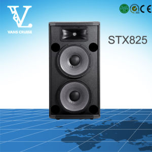 Stx825 Dual 15′′ 2-Way Professional PA Cabinet Speaker pictures & photos