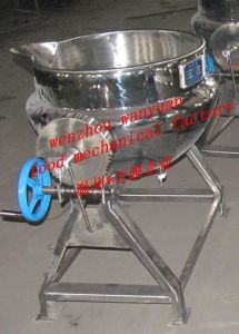 Steam Heating Jacketed Cooking Vat Without Stirring pictures & photos