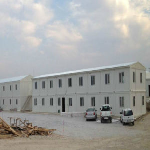 China Prefab Steel Structure Framed House Apartments Building Construction pictures & photos