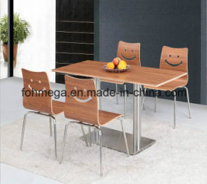 Economical Fast Food Restaurant Tables and Chairs (FOH-BC01) pictures & photos