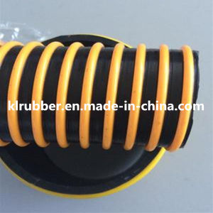 Plastic Rib Spiral PVC Pipe for Conveying pictures & photos