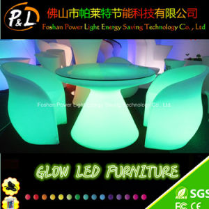 Plastic Color Change LED Furniture Restaurant LED Dinner Table pictures & photos