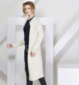 Ladies Fashion Cashmere Cardigan 16braw319 pictures & photos