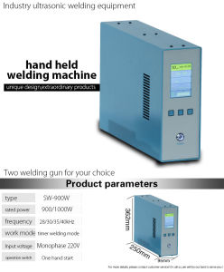 Vertical Ultrasonic Handheld Welder pictures & photos