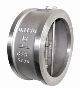 High Quality Stainless Steel Wafer Check Valve China Supplier pictures & photos