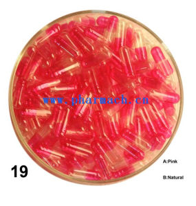 Size 00 Empty Hard Gelatin Capsule Size 0 Red pictures & photos