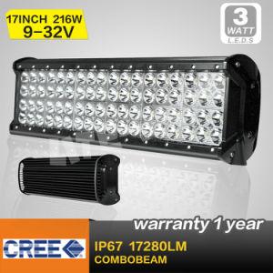 17 Inch 216W Quad Row LED Light Bar (SM-945)