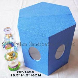 Fashion Blue Cardboard Perfume Box (CP-142A)