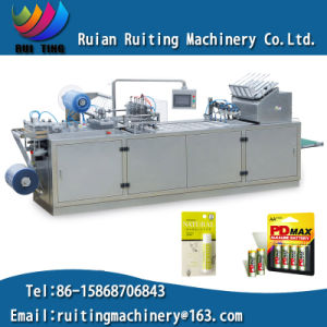 Rtzp-500 Lipstick Toothbrush Packaging Plastic PVC Carton Blister Packing Machine pictures & photos