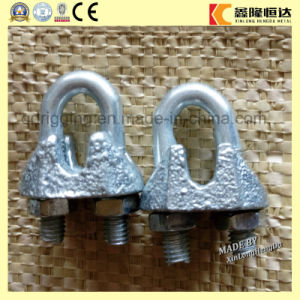 Color Galvanized DIN1142 Malleable Wire Rope Clips pictures & photos
