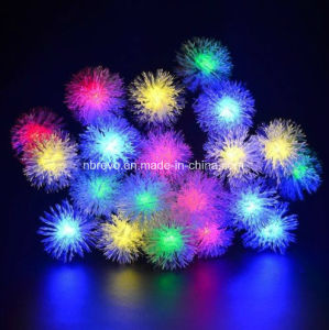 20LED Solar Powered Snow Ball String Lights (RS1023) pictures & photos