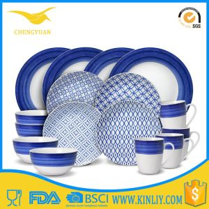 Kenya Hot Sale Decal Food Grade Melamine Plate pictures & photos