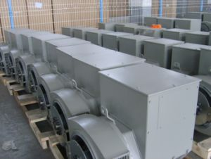Insulation Class H Brushless Alternator 100% Copper Wire AC Generator 90kw pictures & photos