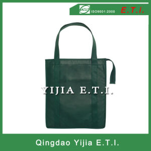 Extralarge 80GSM Nonvowen Grocery Tote Bag with Zipper pictures & photos