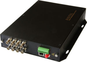 8 Video Fiber Optic Transmitter Receiver