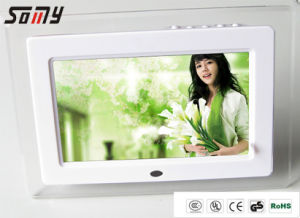 7 Inch High Resolution Digital Photo Frame with Full Function