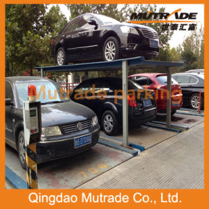 Mutrade 2-4 Floors Underground Four Post Hydraulic Parking System (PFPP) pictures & photos