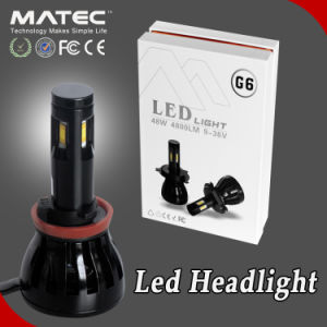 Car and Motorycle Accessories LED Headlight Kit 12V 24V 6000k H13 LED Headlight pictures & photos