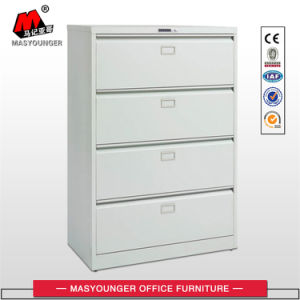 Office Use Legal and Letter Size File Storage 4 Drawers Lateral Metal Filing Cabinet pictures & photos