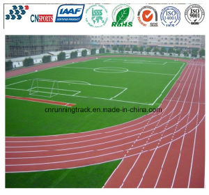 Iaaf Approved Synthetic PU Running Track/Runway/Tartan for Sports Field pictures & photos