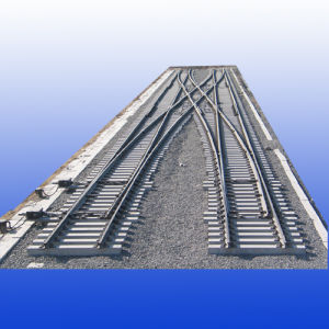 Rail Turnout for Railway Construction