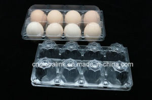 Clear Disposable Plastic Chicken Egg Tray 4/6/8/10/12/15/18/24/30 Holes Slots pictures & photos