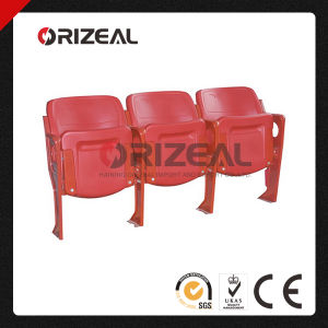 Stadium Chairs with Arms and Cup Holder Oz-3060 Tip up Seat pictures & photos
