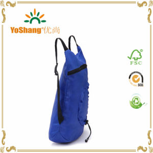 New Women Men Shopping Bag Drawstring Backpack Travel Sport Satchel Folding Tote Bag pictures & photos