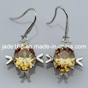 925 Silver Cubic Zircon Earrings (E-07)