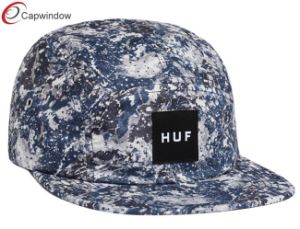 Outdoor Army Cap with Woven Label Custom Hat (07039) pictures & photos