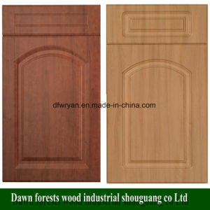 PVC Faced MDF Core Cabinet Door pictures & photos