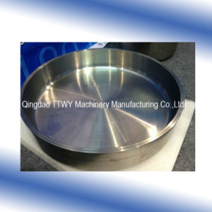 Molybdenum Tungsten Alloy Crucible for Vacuum Rare Earth Melting Container pictures & photos