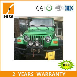 "7 Inch LED Headlight for Jeep Wrangler 4X4 LED Headlight 7"" for Offroad (HG-838A) pictures & photos"
