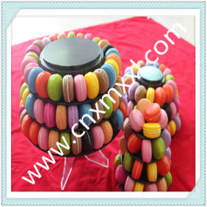 Macaron Display Tower Packaging with Printed