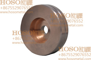 Tungsten Copper Rotary Electrode for PCD Disk Erosion Machining (elkonite) Rwma Class 10, Class 11, Class 12