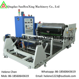 Hot Melt Adhesive Breathable Medical Plaster Fabrication Machinery pictures & photos