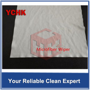 No Particles Ultrasonic Cut Microfiber Knitted Optical Cleaning Wipes pictures & photos