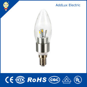 220V CE UL SMD 3W E14 LED Candle Bulb pictures & photos