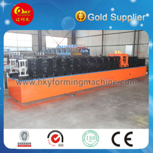 100-300 Z Shaped Steel Purlin Roll Forming Machine with Punching Section Hot Sale (100-300) pictures & photos