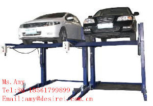Two Post Clear Floor Auto Lift/Car Lift pictures & photos