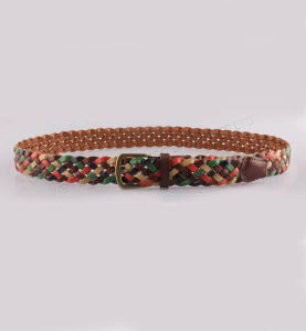 2016 New Colorful Woven Belt for Lady pictures & photos