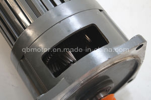 Shaft Dia. 28mm Vertical Mounted 1-Phase Geared Motor pictures & photos