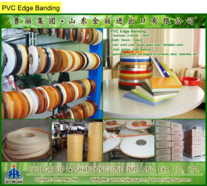 PVC Edge Banding, PVC Edge Tape pictures & photos