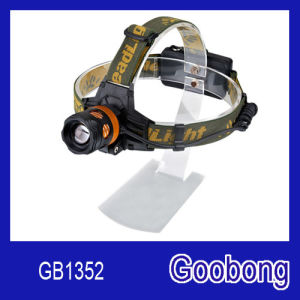 Super Bright CREE T6 LED Rechargeable Focusing Zoom Head Lamp Headlamp