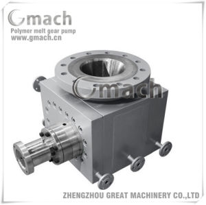 Chemical Melt Pump for Plastic Extruder Discharge Pump Under The Reactor pictures & photos