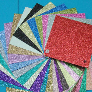 High Quality Glass Flake Glitter Powder for Decoration pictures & photos